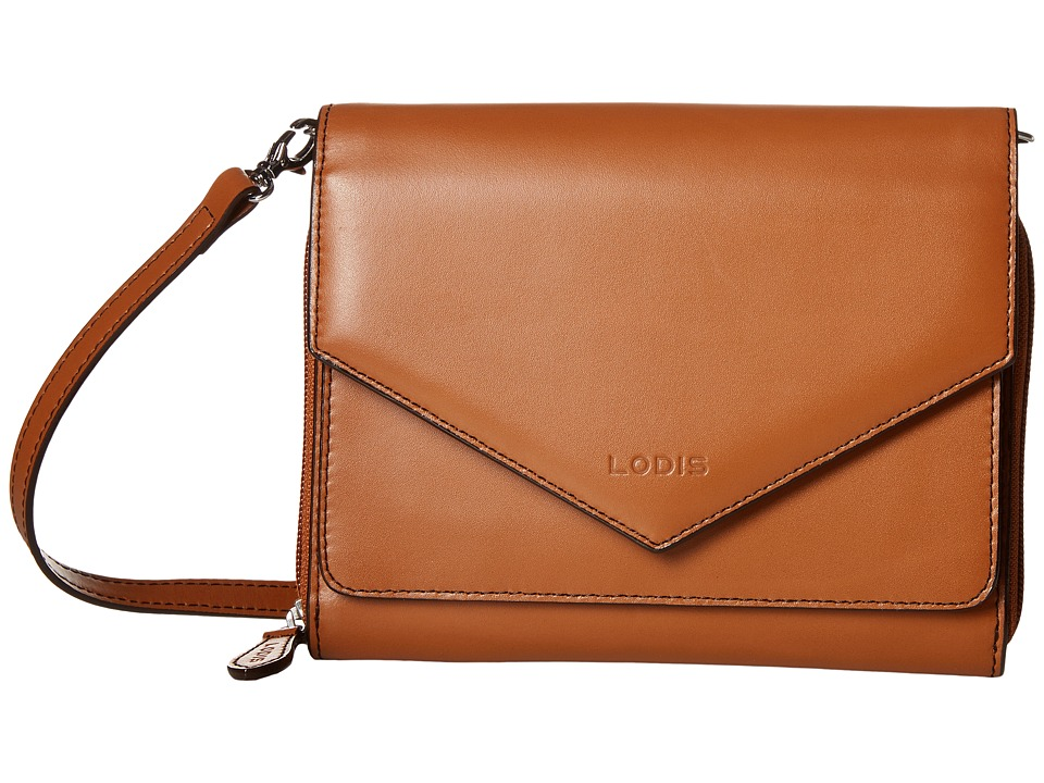 Lodis Accessories - Audrey Daria Small Crossbody (Toffee/Chocolate) Cross Body Handbags