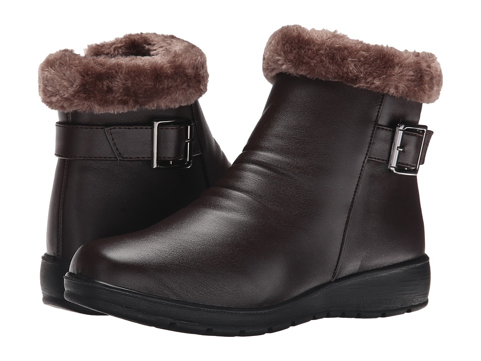 PATRIZIA - Reinforced (Dark Brown) Women's Shoes