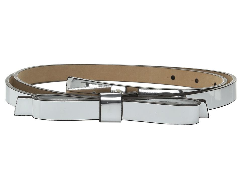 Kate Spade New York - Metallic Belt (Silver/Pale Gold) Women's Belts