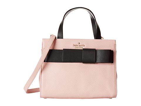 Kate Spade New York - Poplar Street Small Shelley (Rosey/Black) Satchel Handbags