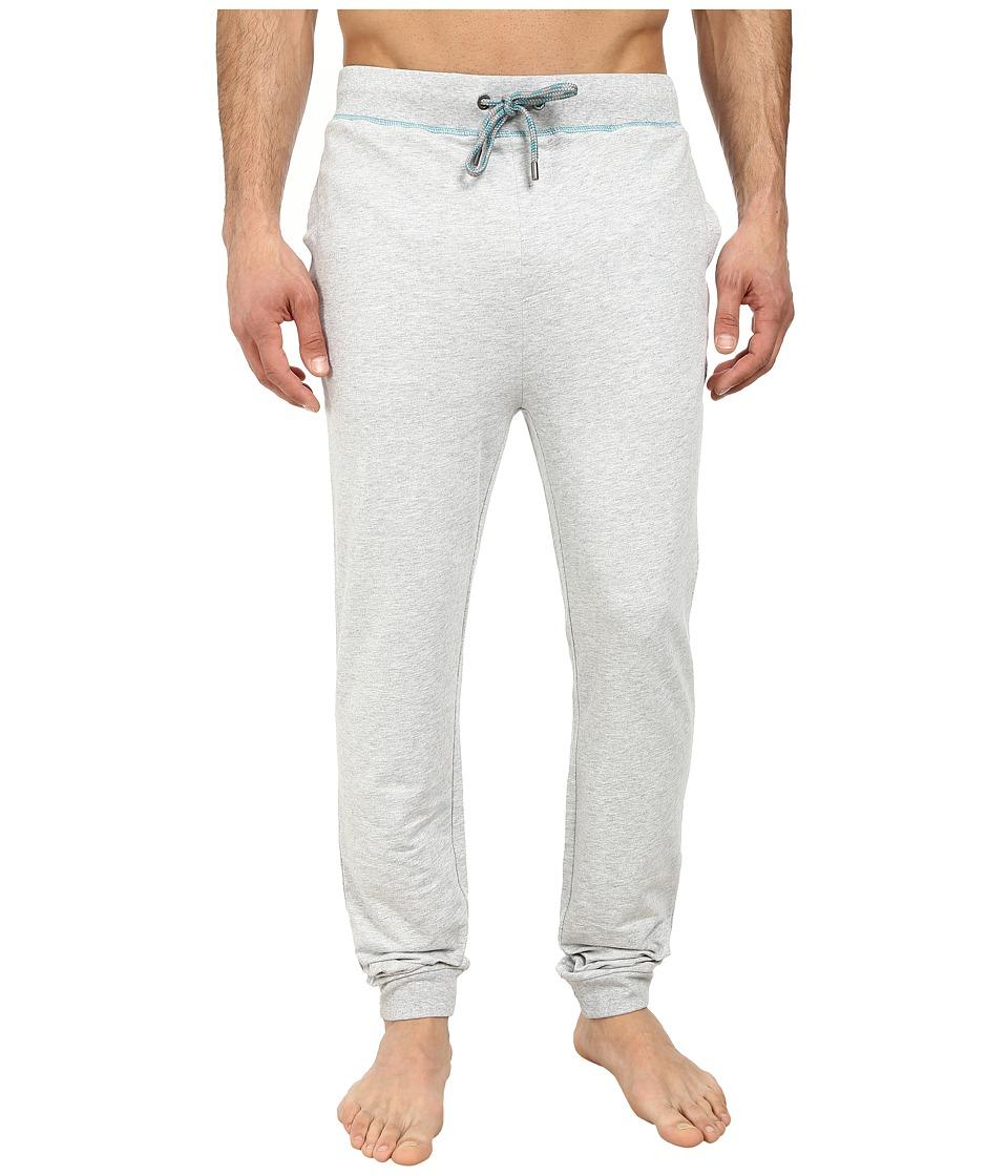 BOSS Hugo Boss - Authentic Cuffed Pants (Medium Grey) Men