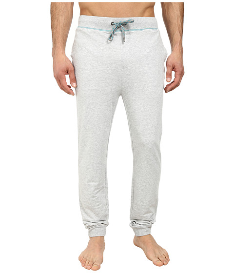 BOSS Hugo Boss - Authentic Cuffed Pants (Medium Grey) Men's Pajama