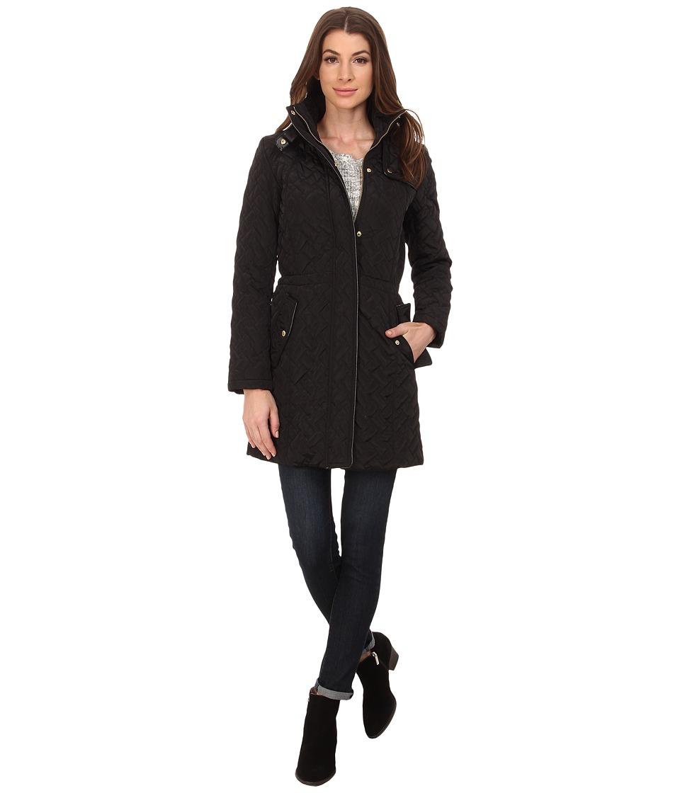 Cole Haan - Signature Quilted Jacket (Black) Women's Coat