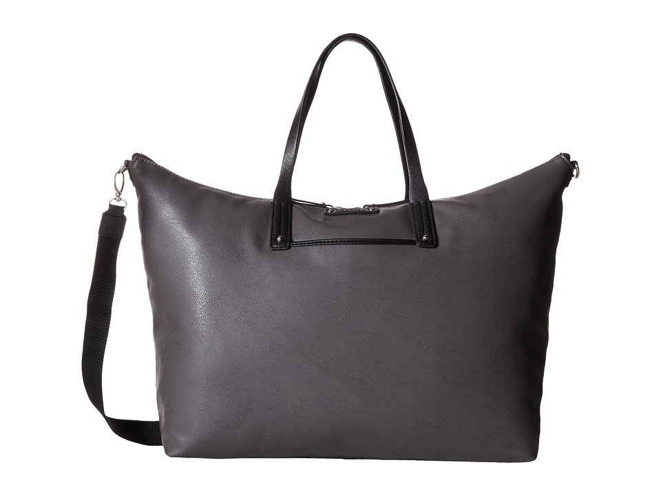 Kenneth Cole Reaction - Bondi Girl Tote (Gunmetal/Black) Tote Handbags