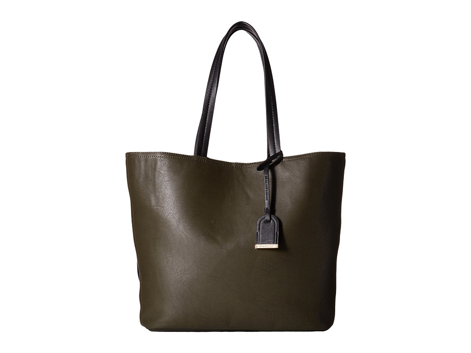 Kenneth Cole Reaction - Clean Slate Tote (Caper/Black) Tote Handbags