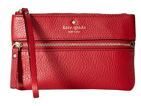 Kate Spade New York - Cobble Hill Bee (Dynasty Red) Wristlet Handbags