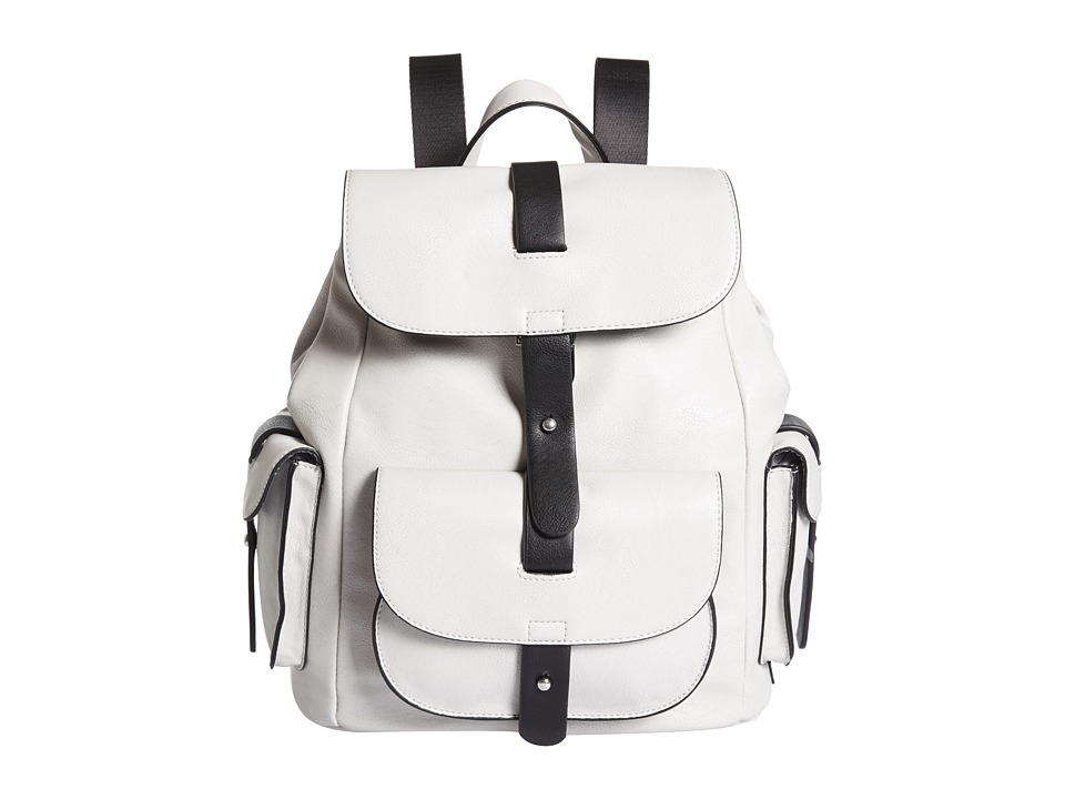 Kenneth Cole Reaction - Streamers Backpack (Pale Wheat/Black) Backpack Bags