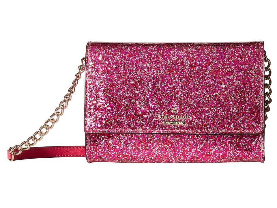 Kate Spade New York - Glitter Bug Cami (Red Multi) Cross Body Handbags