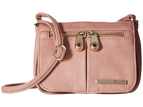 Kenneth Cole Reaction - Wooster Street Small Flap Crossbody (Pink Mist) Cross Body Handbags