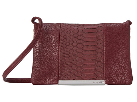 Kenneth Cole Reaction - Dovetail Mini Crossbody (Dark Tannin) Cross Body Handbags