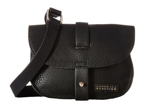 Kenneth Cole Reaction - Streamers Crossbody (Black/Black) Cross Body Handbags