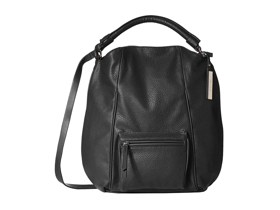 Kenneth Cole Reaction - Pied Piper Hobo (Black/Black) Hobo Handbags