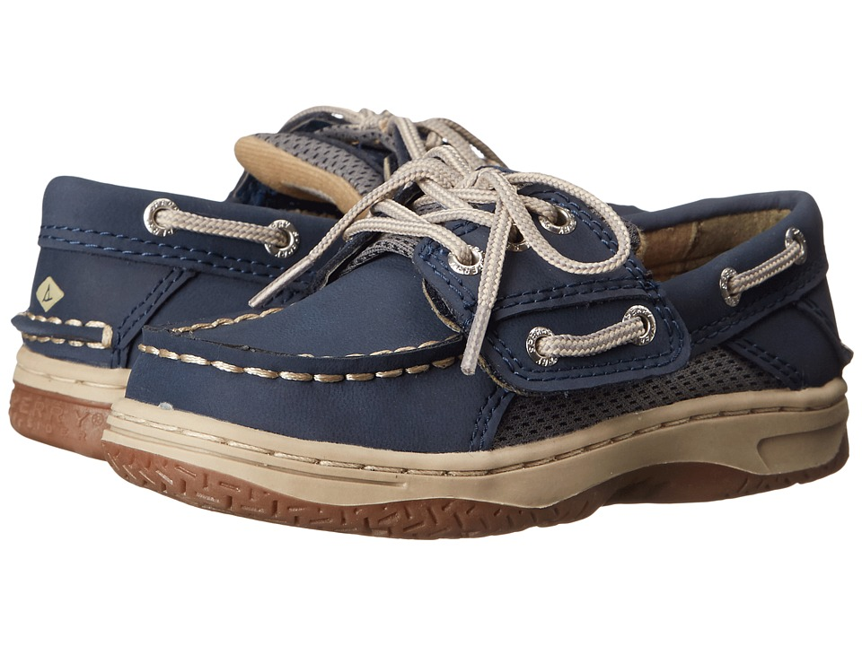 Sperry Kids - Billfish A/C (Toddler/Little Kid) (Navy) Boys Shoes