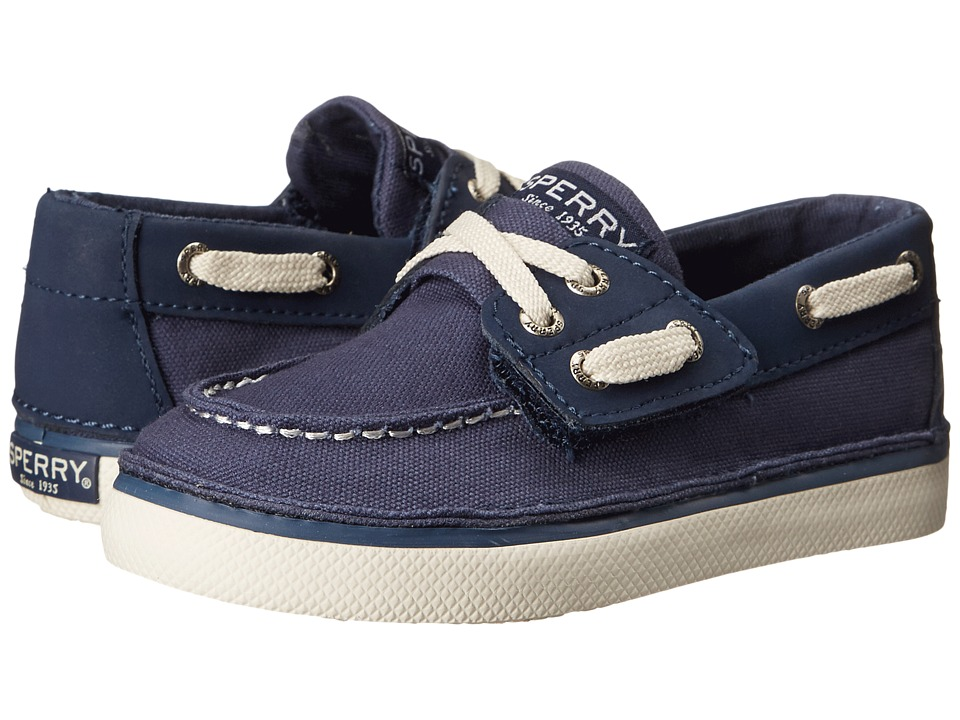 Sperry Kids - Cruz Jr (Toddler/Little Kid) (Navy) Boys Shoes