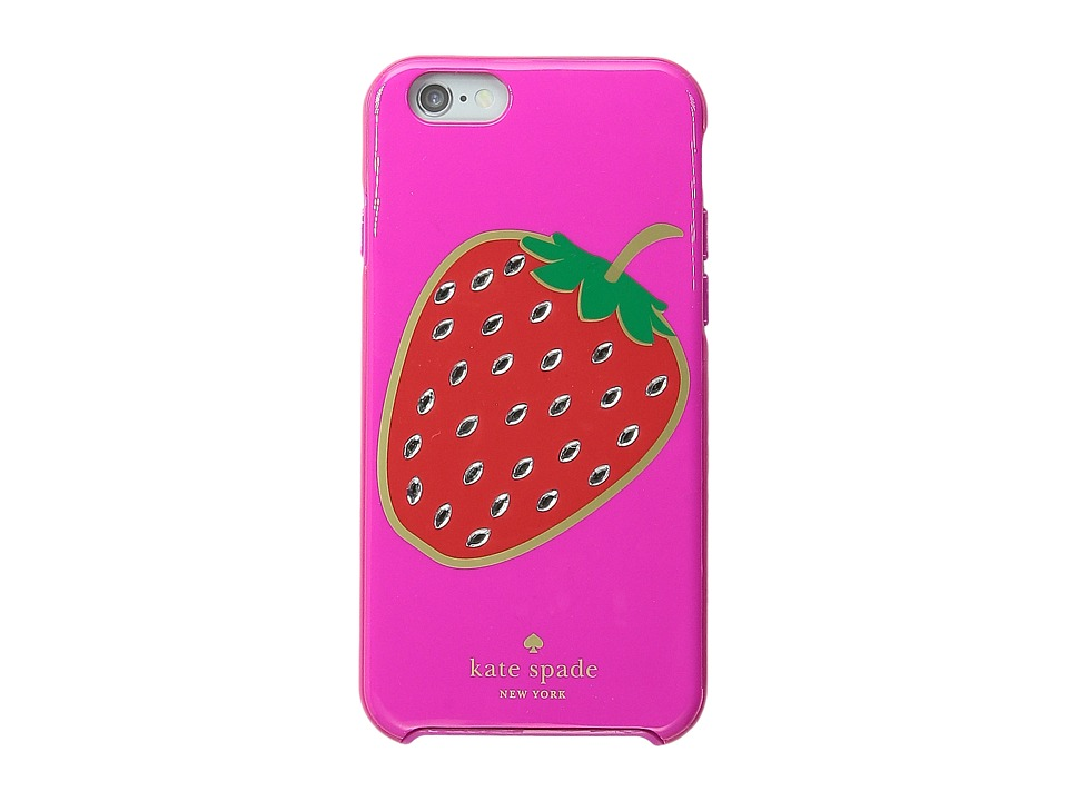 Kate Spade New York - Embellished Berry Resin iPhone 6 and 6s Case (Vivid Snapdragon) Cell Phone Case