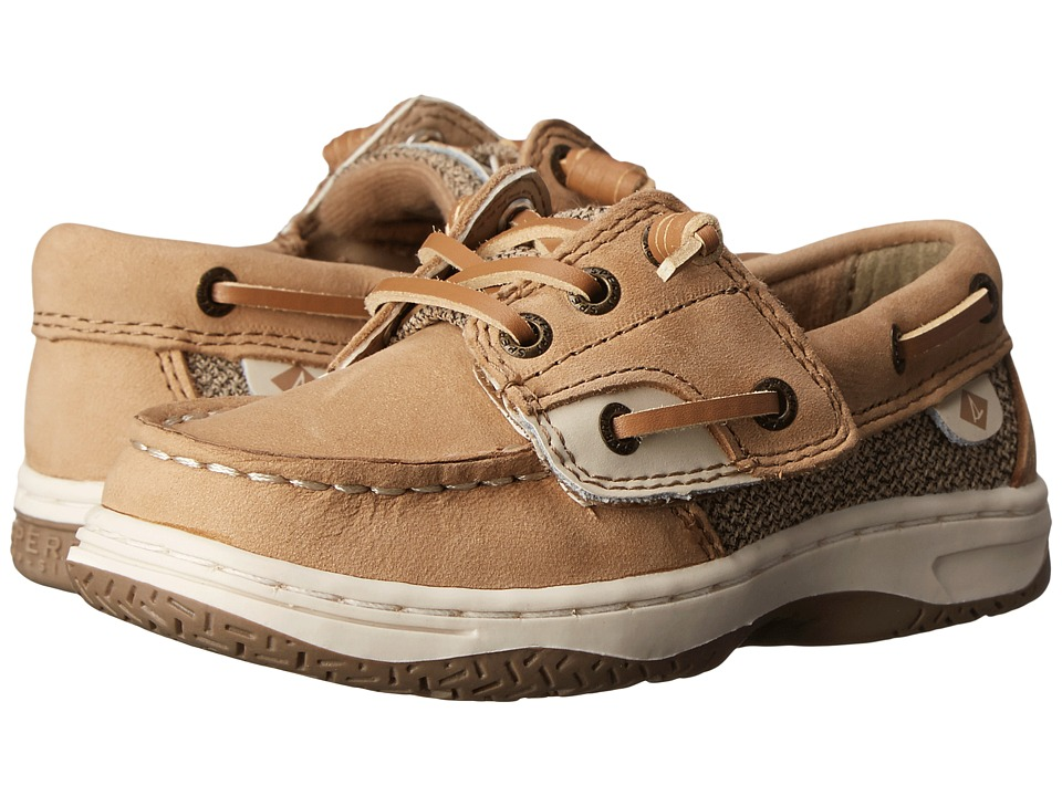 Sperry Kids - Ivyfish Jr (Toddler/Little Kid) (Linen/Oat) Girl's Shoes