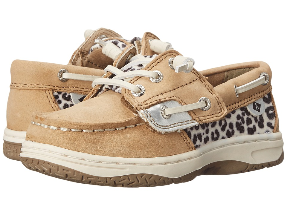 Sperry Top-Sider Kids - Ivyfish Jr (Toddler/Little Kid) (Linen/Snow Leopard) Girl
