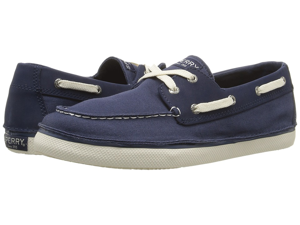 Sperry Kids - Cruz (Little Kid/Big Kid) (Navy) Boys Shoes