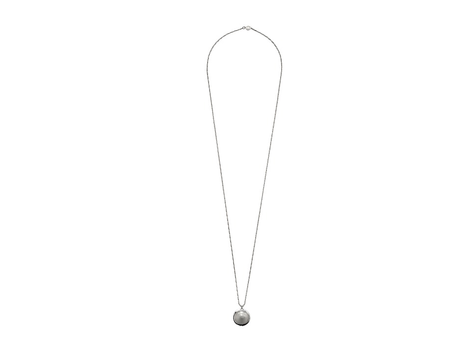 Vince Camuto - Ball Pendant Necklace (Light Rhodium) Necklace