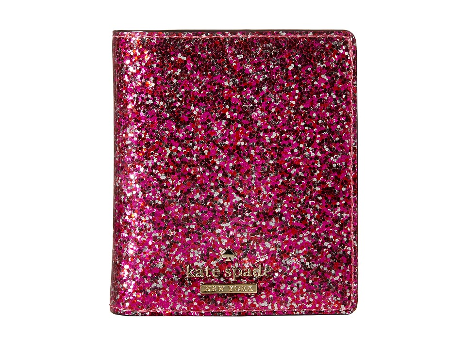 Kate Spade New York - Glitter Bug Small Stacy (Red Multi) Wallet