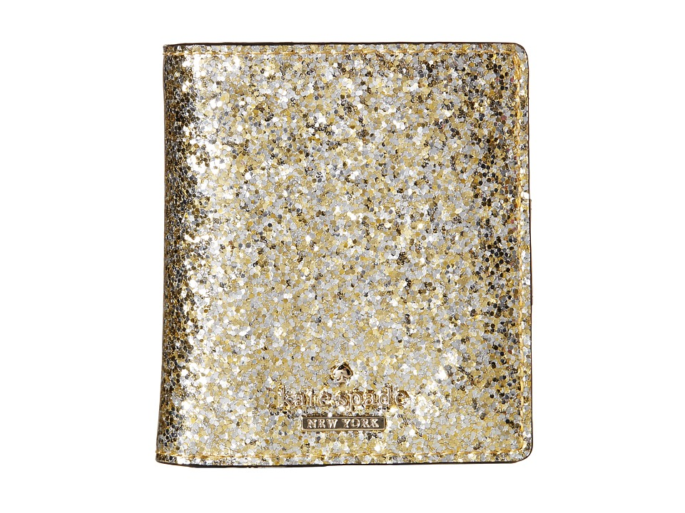 Kate Spade New York - Glitter Bug Small Stacy (Gold/Silver) Wallet