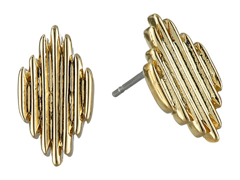 Vince Camuto - Spikey Stud Earrings (Gold) Earring