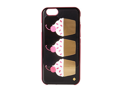 Kate Spade New York - Embellished Cupcakes Resin Phone 6 Case (Multi) Cell Phone Case