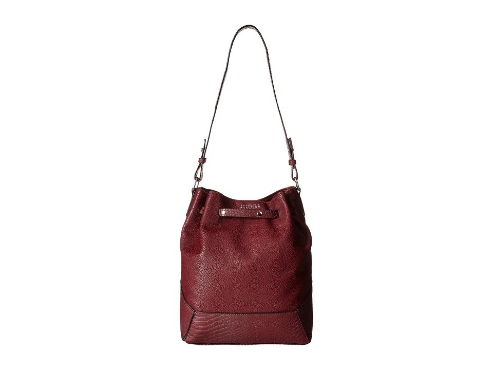 Kenneth Cole Reaction - Stand Up Drawstring (Dark Tannin/Dark Tannin) Handbags