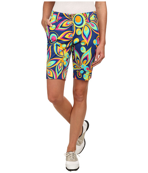 Loudmouth Golf - Shagadelic Blue Shorts (Limoges) Women