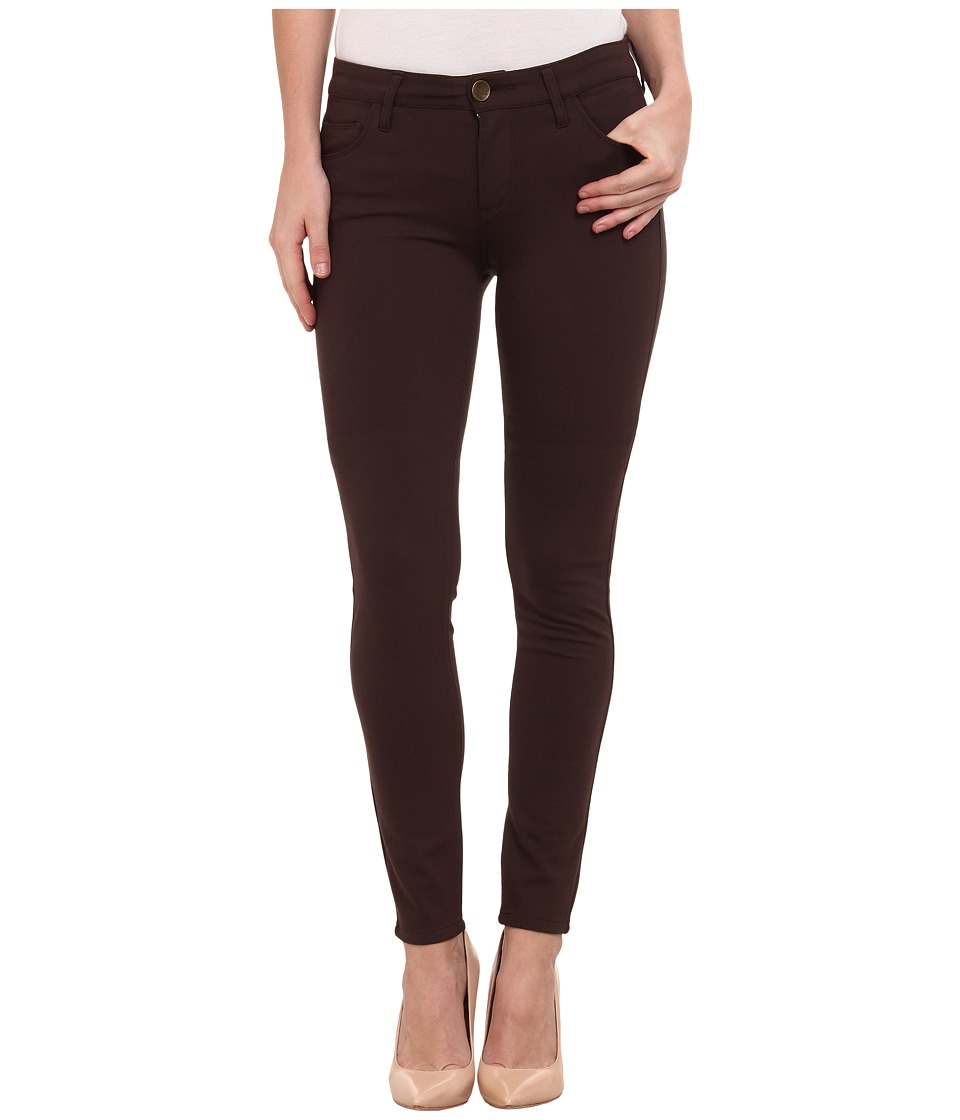 KUT from the Kloth - Mia Toothpick Skinny Pant in Chocolate (Chocolate) Women's Jeans