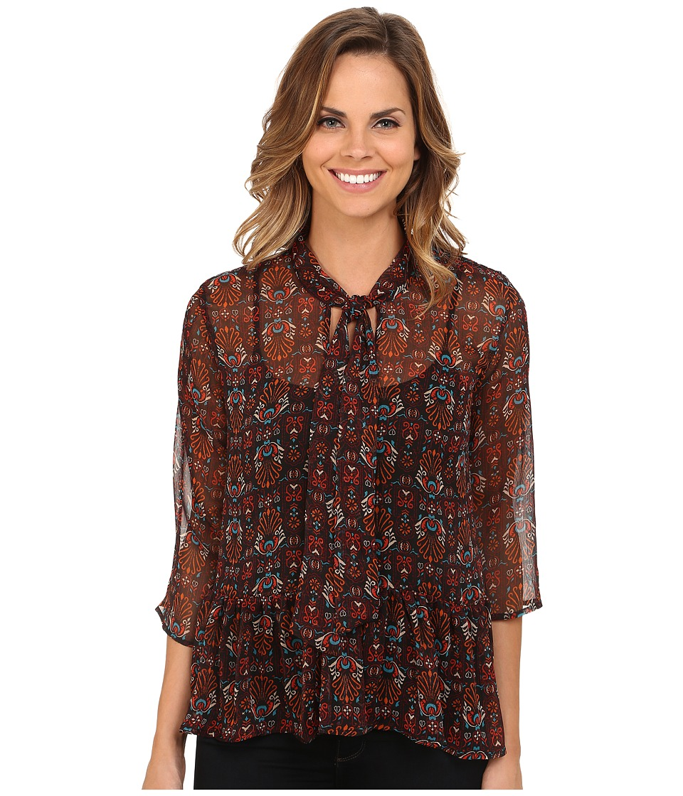KUT from the Kloth - Harmony Top (Black) Women's Blouse