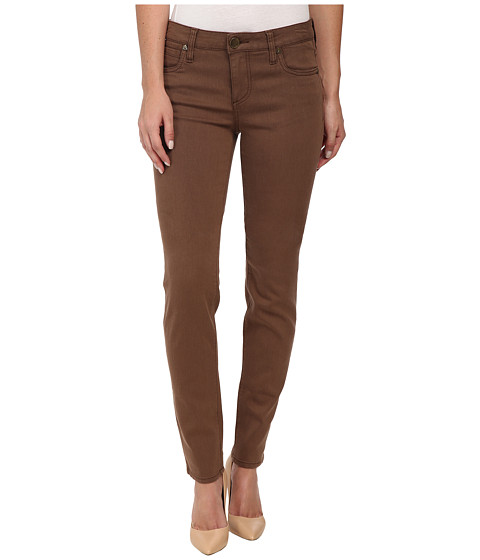 KUT from the Kloth - Diana Skinny Jeans in Dark Brown (Dark Brown) Women