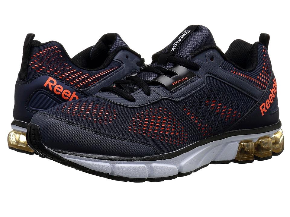 Reebok - Jet Dashride (Graphite/Solar Orange/White/Black) Men's Running Shoes