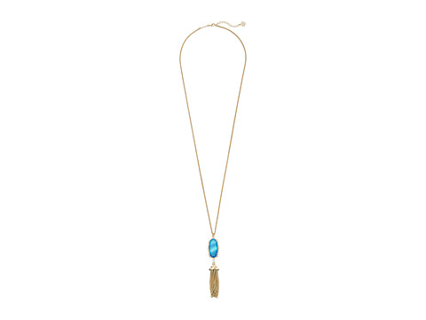 Kendra Scott - Everly Necklace (Gold Teal Agate) Necklace