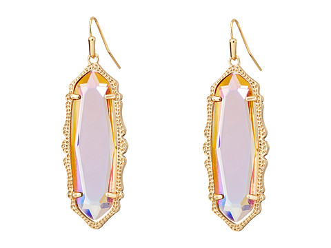 Kendra Scott - Francie Earrings (Rose Gold Iridescent Peach) Earring