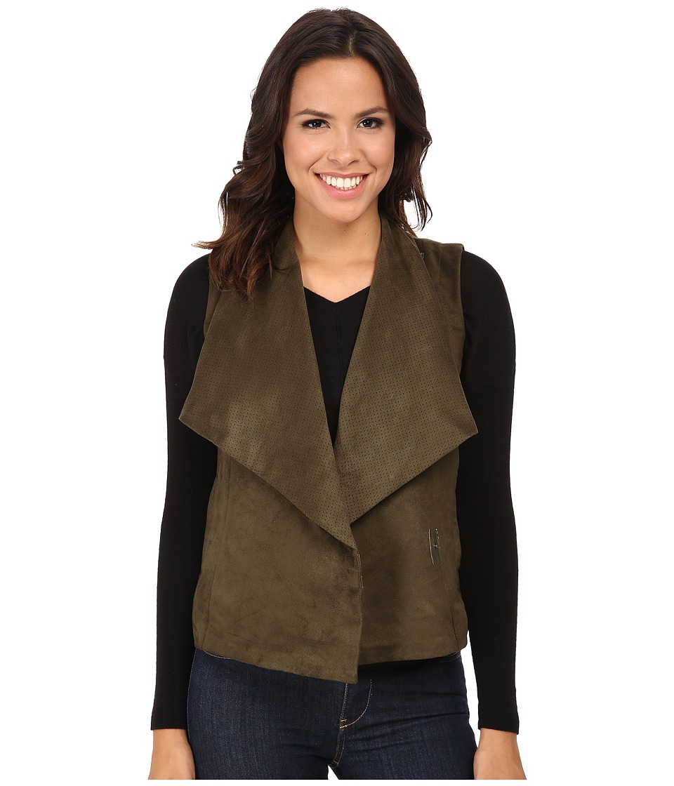 KUT from the Kloth - Easton Top (Olive) Women's Vest