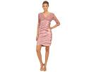 Shimmer Shutter Tuck Lace Dress