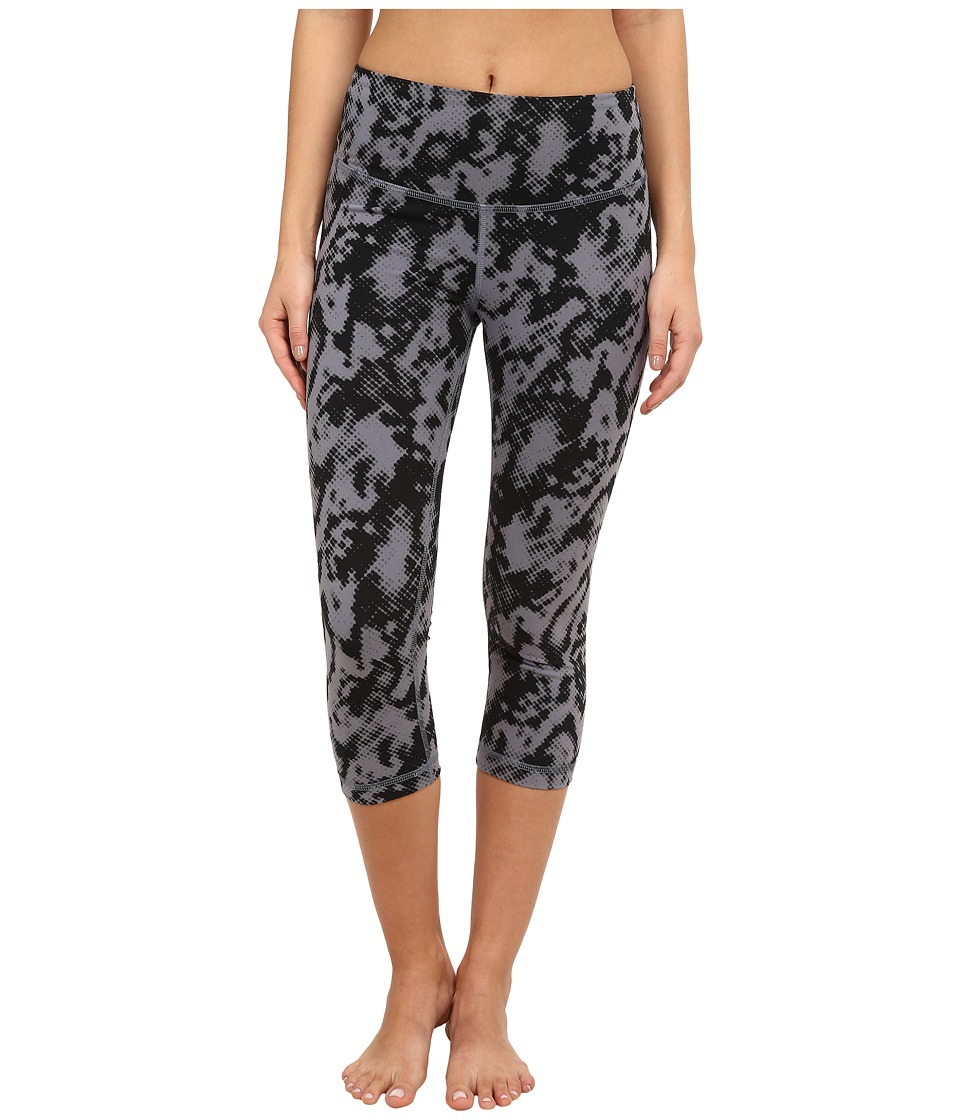 Zobha - Addison Printed Capri Pants (Folkstone Gray) Women