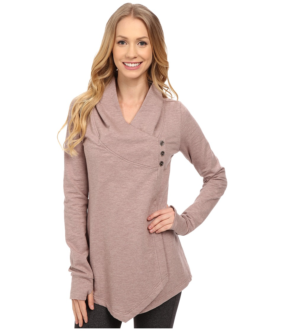 Tonic - Expansion Wrap (Mulberry) Women's Sweater
