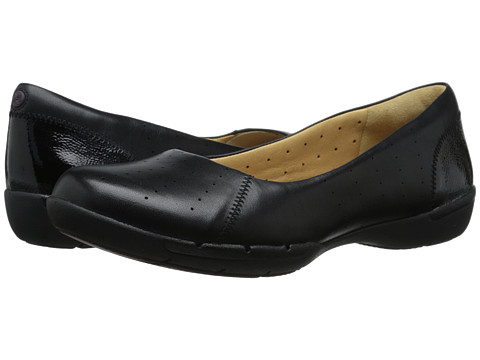 Clarks - Un Hearth (Black Leather) Women