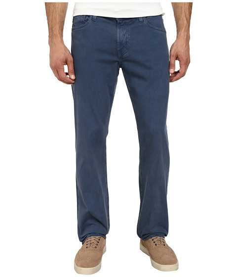 AG Adriano Goldschmied - Graduate Tailored Leg Sueded Stretch Twill in Sulfur Promontory Blue (Sulfur Promontory Blue) Men's Jeans