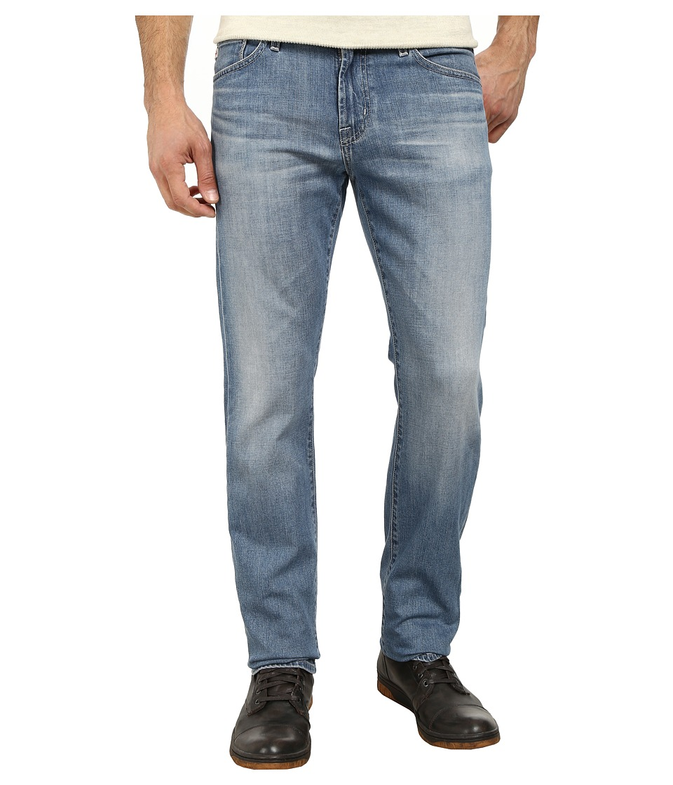 AG Adriano Goldschmied - Graduate Tailored Leg Recycled Denim in 15 Years Cape (15 Years Cape) Men