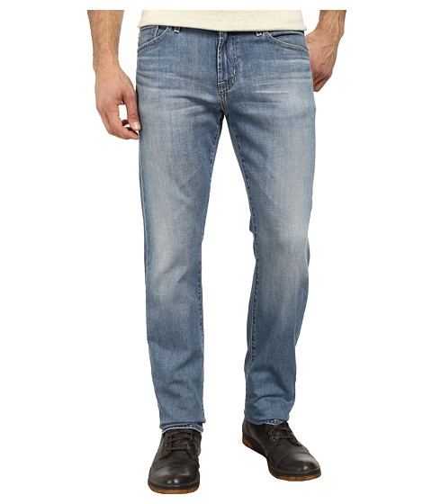AG Adriano Goldschmied - Graduate Tailored Leg Recycled Denim in 15 Years Cape (15 Years Cape) Men's Jeans
