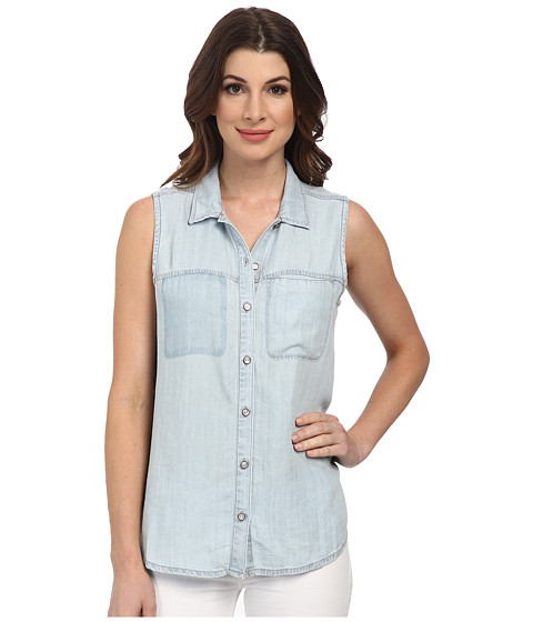 Dittos - Felicia Sleeveless Shirt (Bleach) Women's Sleeveless