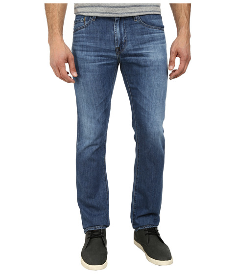 AG Adriano Goldschmied - Matchbox Slim Straight Leg Denim in 7 Years Albatross (7 Years Albatross) Men