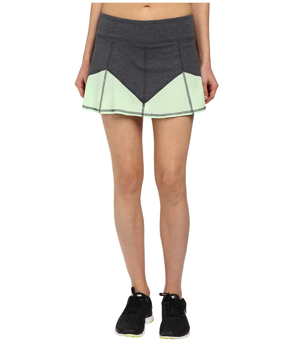 Tonic - Ace Skort (Thunder & Lime Pop) Women's Skort