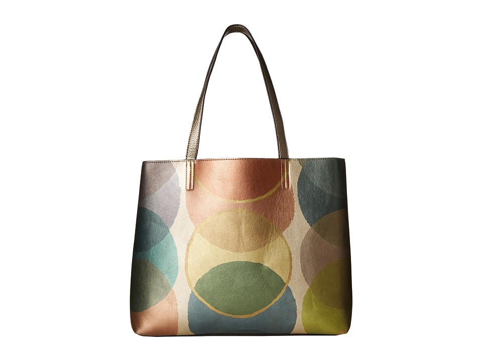 Echo Design - Metallic Dots Essex Tote (Multi/Gunmetal) Tote Handbags