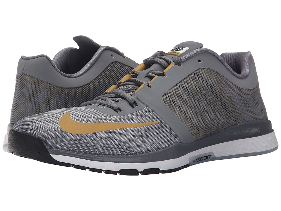 Nike - Zoom Speed TR 3 (Cool Grey/Metallic Gold/Wolf Grey/White/Black) Men's Cross Training Shoes