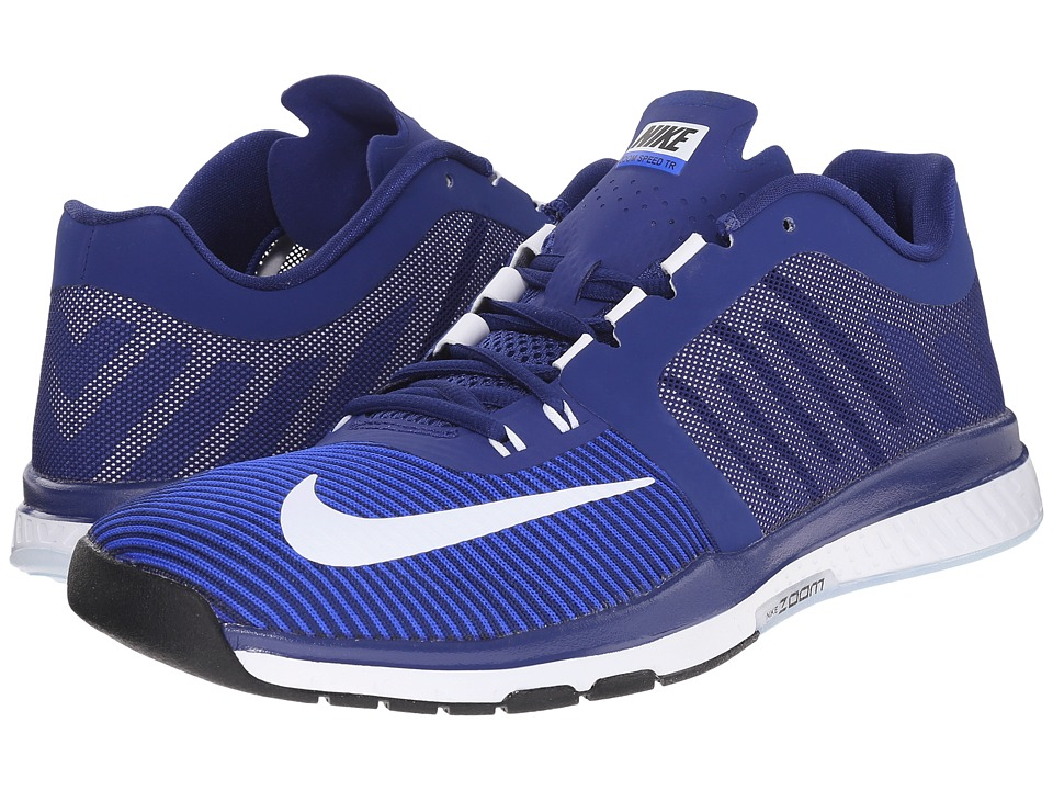 Nike - Zoom Speed TR 3 (Deep Royal Blue/White/Racer Blue/Black) Men's Cross Training Shoes