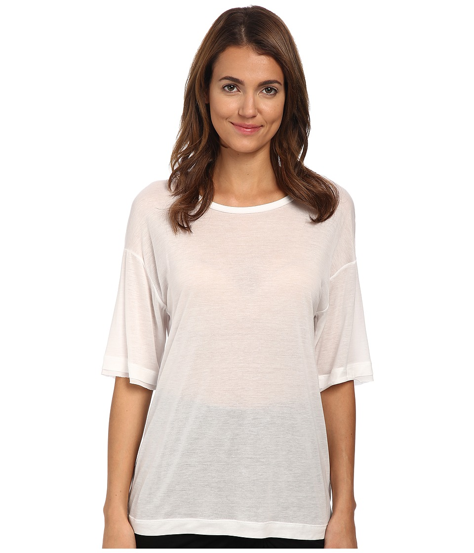 HELMUT LANG - Entity Jersey Shirt (Optic White) Women's Dress